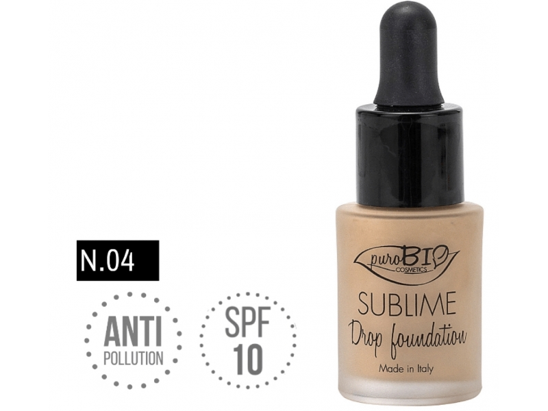 PuroBIo SUBLIME Drop foundation 04 15ml