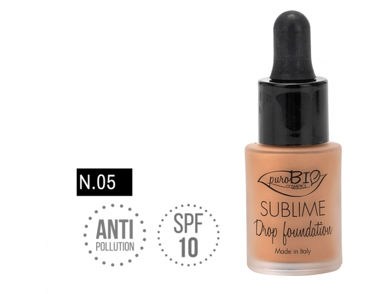 PuroBIo SUBLIME Drop foundation 05 15ml
