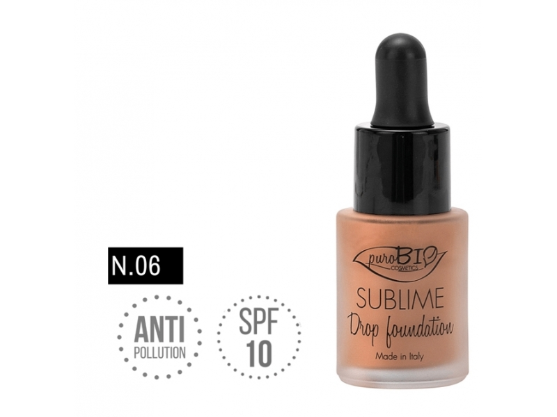 PuroBIo SUBLIME Drop foundation 06 15ml