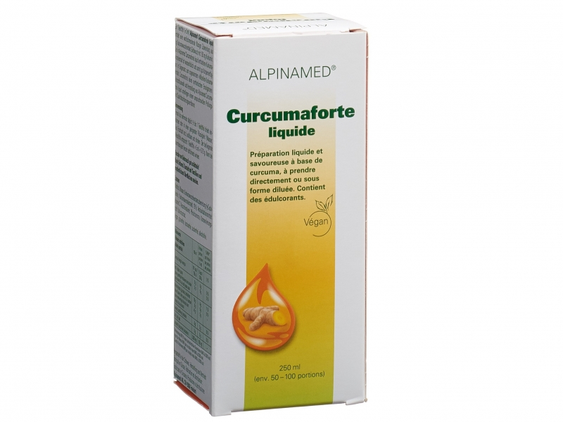 ALPINAMED Curcumaforte liquid 250 ml